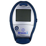 Bayer Breeze 2 Diabetes Meter Blood Glucose System