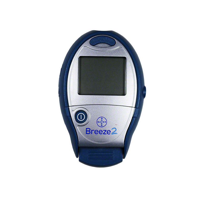 Bayer Breeze 2 Diabetes Meter Blood Glucose System