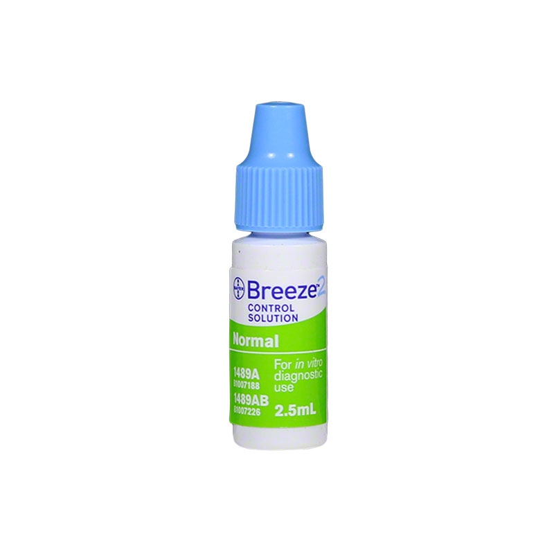 Bayer Ascensia Breeze 2 Glucose Control Solution Normal - 2.5ml