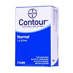 Bayer Contour Glucose Control Solution Normal thumbnail