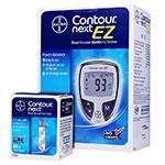 Bayer Contour NEXT EZ Glucose Meter Kit Combo