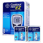 Free Contour NEXT EZ Glucose Meter Kit w/Purchase of 100 Test Strips thumbnail