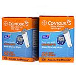 Bayer Contour TS Control Test Strips 100/bx