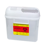 BD Guardian Sharps Container Side Entry 5.4 Quarts Pearl Each
