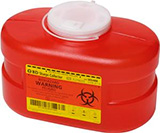 BD Multi-Use One Piece Sharps Container 3.3 Quarts Each 305488