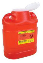 BD Guardian Sharps One Piece Safety Collector 6.9 Quarts Each 305489