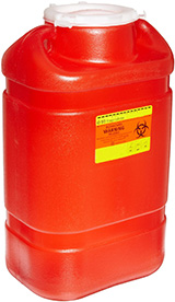 BD Guardian One Piece Sharps Collector System 5 Gallons Each 305491