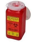 BD 1.4 Quart 1 Piece Sharps Container Red 36/bx 305557 thumbnail