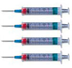 BD Safety-Lok Syringe with Luer-Lok Tip 5 ml 400/bx 305558 Case of 4