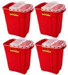 BD Extra-Large Sharps Collector 9 Gallon Red 8/bx 305615 Case of 4 thumbnail