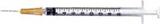 BD Slip-Tip Syringe Detachable Needle 26G x 5/8