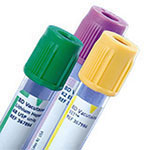 BD Vacutainer Plus Plastic Citrate Tube 13 x 75mm 2.7ml 1000/bx