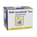 BD AutoShield Duo Pen Needles 100ct thumbnail