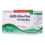 BD Ultra-Fine Nano Pen Needles 32g 4mm Box of 90