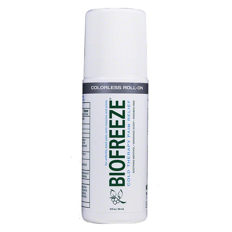 Biofreeze Pain Relief 3oz Roll-On - Pack of 2