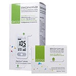 Bionime Rightest GM550 Blood Glucose Monitoring Kit & 50 Test Strips thumbnail