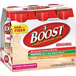 Nestle Boost Original Ready To Drink Creamy Strawberry 8oz Case of 24 thumbnail