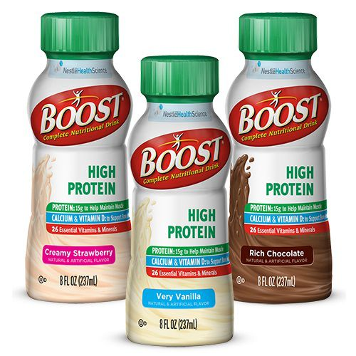 Boost High Protein Energy Drink 8 Oz: Boost High Protein Energy Drink 8oz Rich Chocolate Case Of