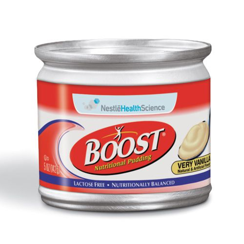 Nestle Boost Nutritional Vanilla Pudding 5oz 4-Pack