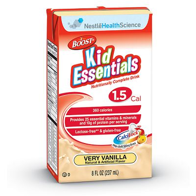 Nestle Boost Kid Essentials 1.5 Vanilla 8oz 6-Pack