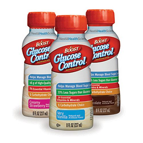 Nestle Boost Glucose Control Chocolate 8oz 27-Case