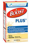 Nestle Boost PLUS Very Vanilla 8oz thumbnail