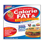 Calorie King Calorie, Fat & Carb Counter 2021 Edition thumbnail
