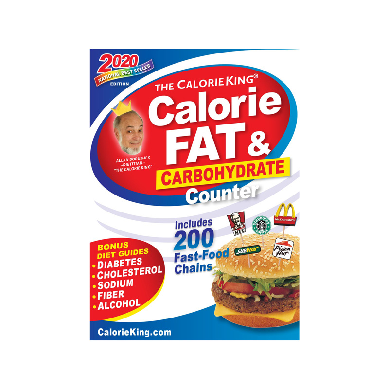 Calorie King Calorie, Fat & Carb Counter 2020 Edition