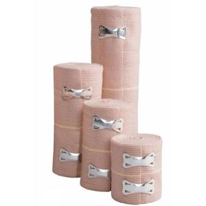 Cardinal Health Elastic Bandage with Clip Closure 4in x 5yds