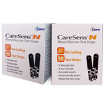 CareSens Blood Glucose Test Strips Box of 100
