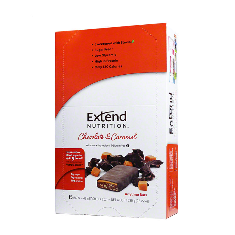 ExtendBar Chocolate N Caramel Case of 15