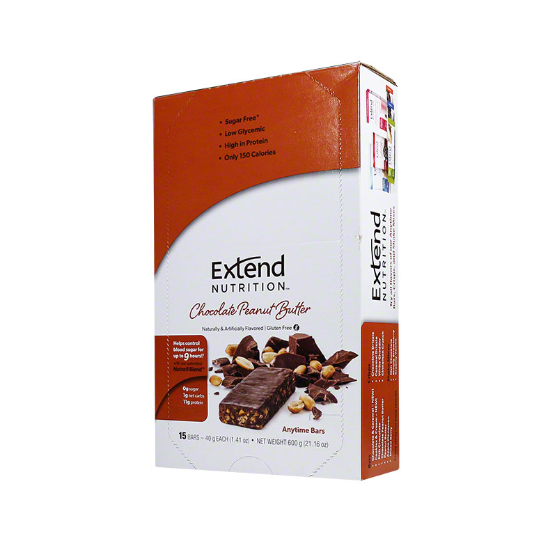 ExtendBar Peanut Butter Chocolate Delight - Case of 15