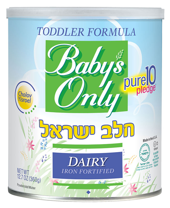Baby's Only Cholov Yisroel Dairy Toddler - 12.7oz Powder Pack of 6
