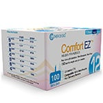 Clever Choice ComfortEZ Pen Needles 29G 12mm - Box of 100