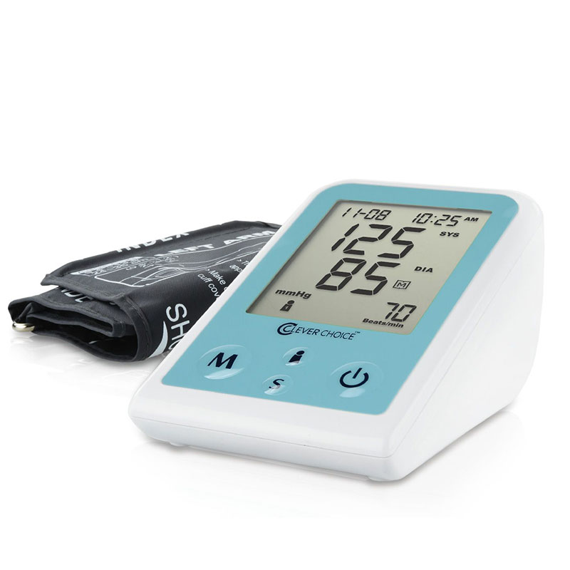 Clever Choice Fully Auto Digital Arm Blood Pressure Monitor w/XL Cuff