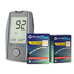Clever Choice Pro Blood Glucose Meter w/ 100 strips