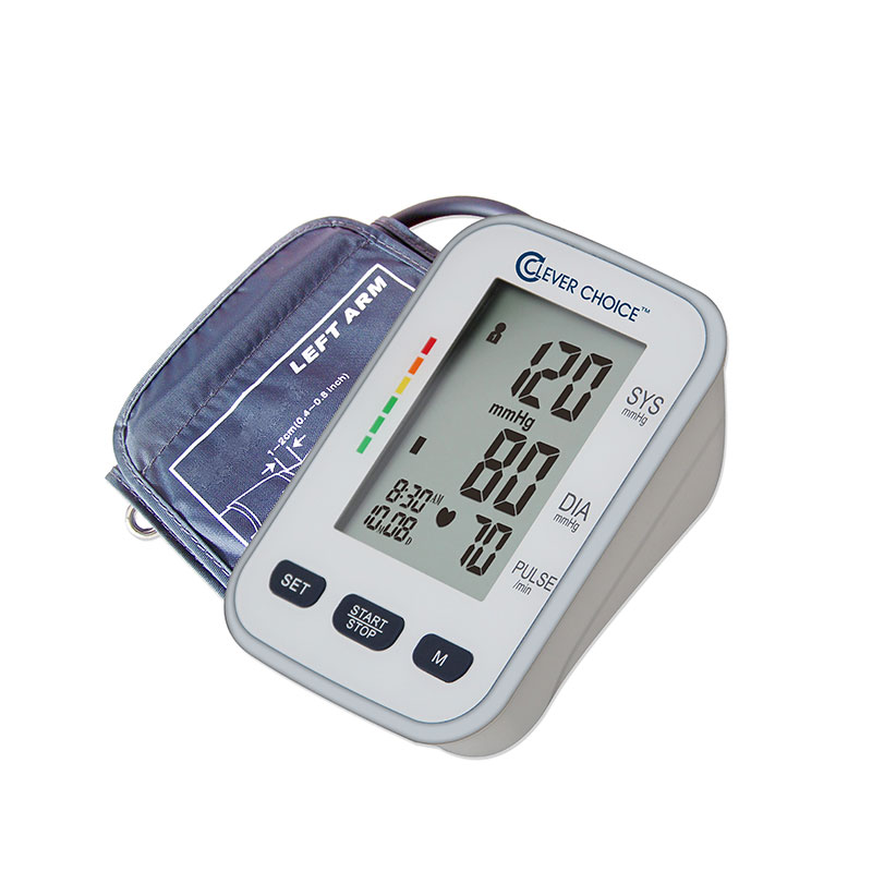 Clever Choice Upper Arm Talking Blood Pressure Monitor - Wide Cuff