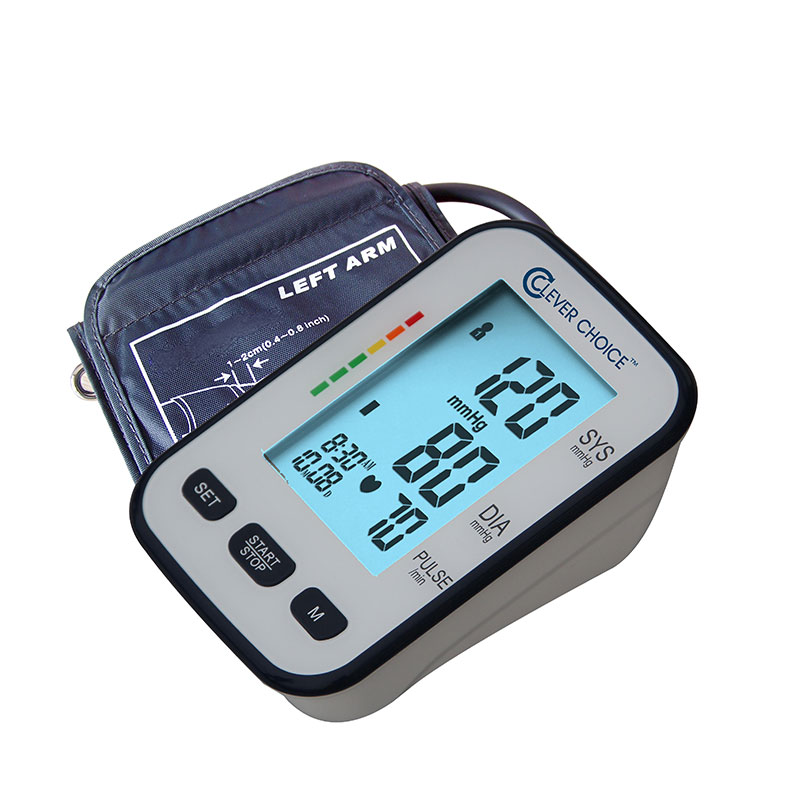 Clever Choice Upper Arm Elite Blood Pressure Monitor - Wide Cuff