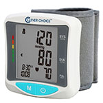 Clever Choice Wrist Bi-Lingual Talking Blood Pressure Monitor