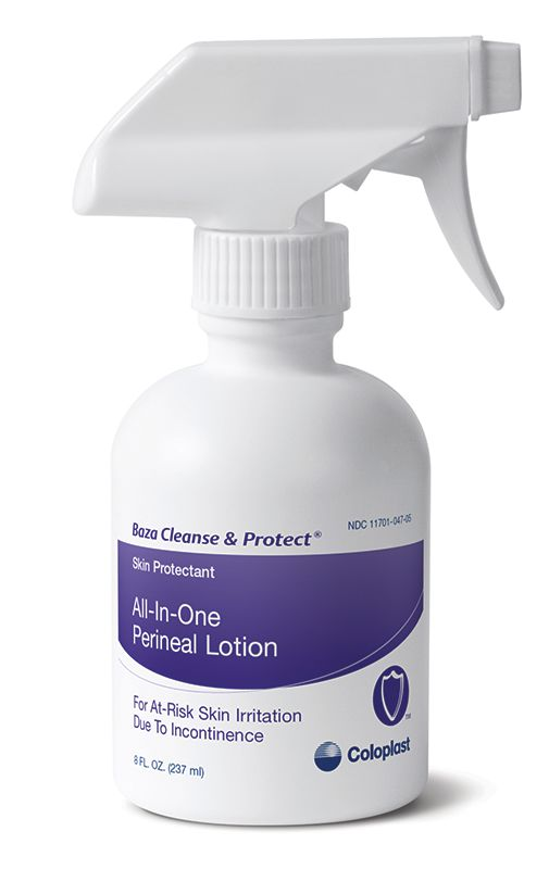 Coloplast Baza Cleanse & Protect All-In-One Perineal Lotion 8oz
