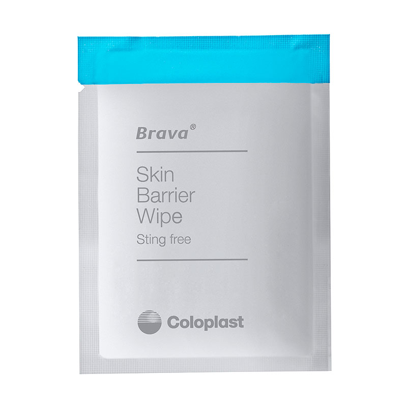 Coloplast Brava Latex-Free Skin Barrier Wipes 120215 30/bx