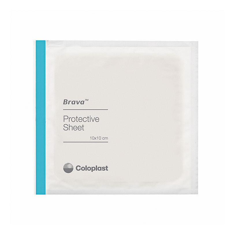 Coloplast Brava Protective Sheet Skin Barrier 6x6 32155 5/bx
