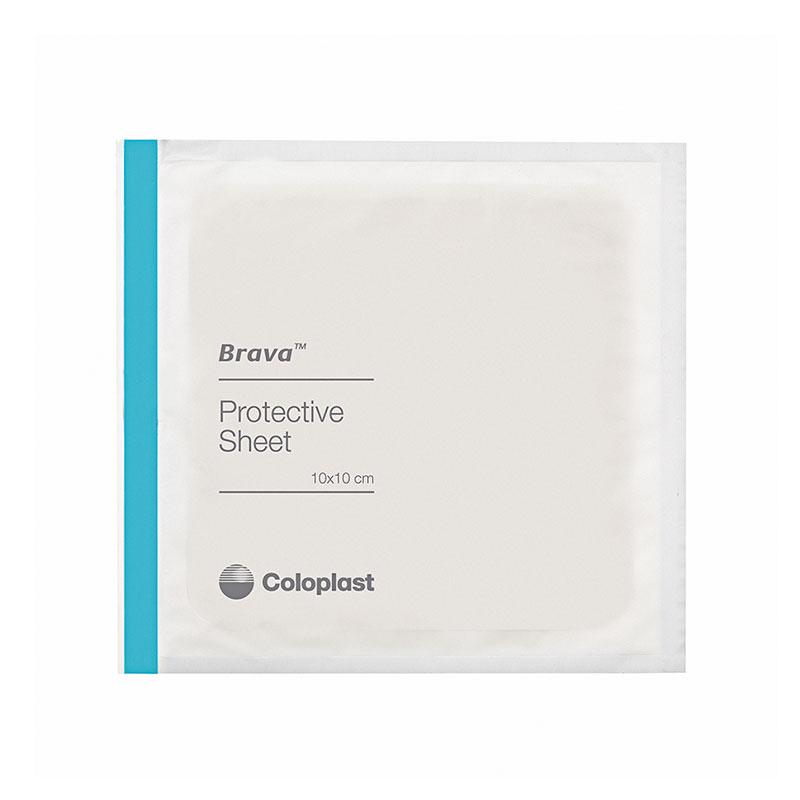 Coloplast Brava Protective Sheet Skin Barrier 8x8 32205 5/bx