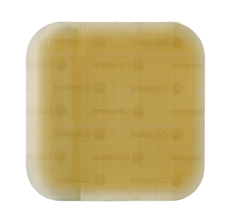 Coloplast Comfeel Plus Ulcer Dressing 8 inch x 8 inch 5/bx