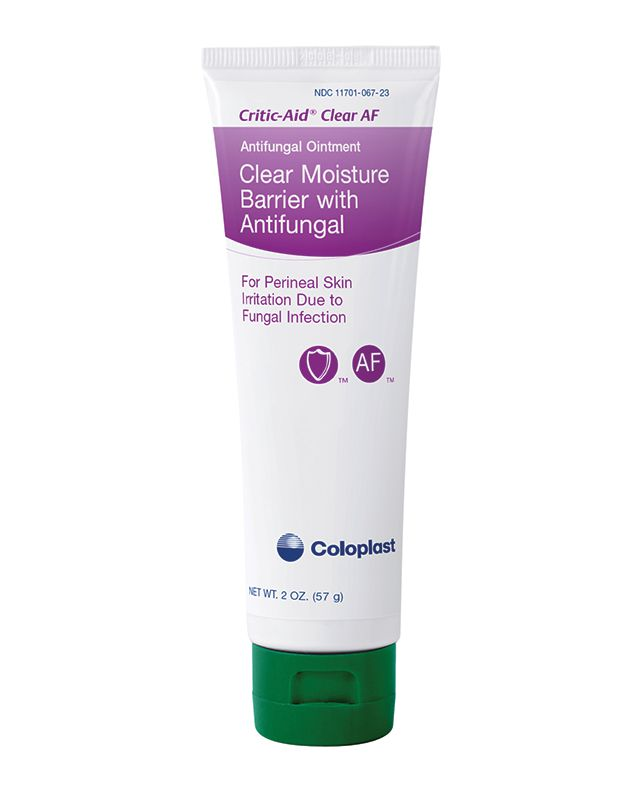 Coloplast Critic-Aid Clear Antifungal Barrier Ointment 2oz