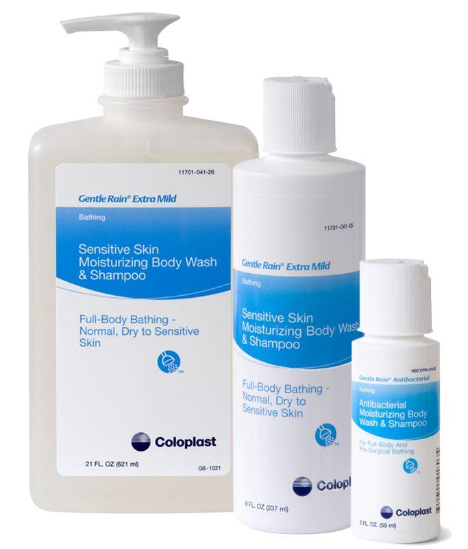 Coloplast Gentle Rain Extra Mild Body Wash, Shampoo, & Hand Wash 21oz