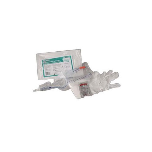 Coloplast Self-Cath Closed System 14 FR 16 inch Coude & Strip 3814 50/bx