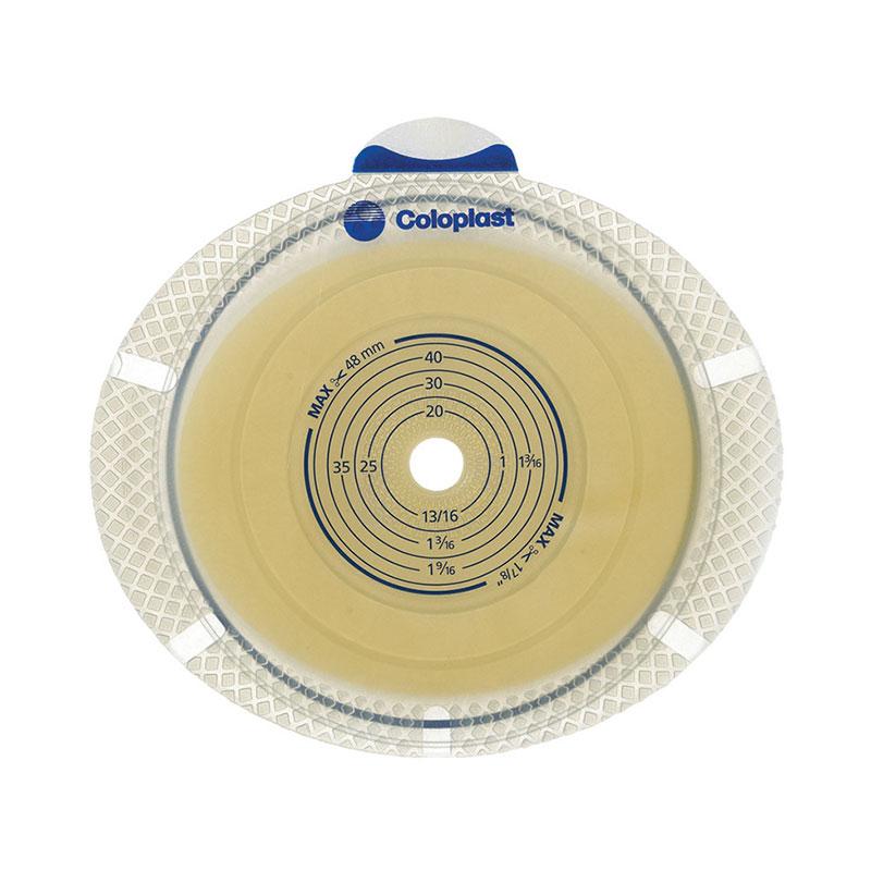 Coloplast SenSura Flex Xpro EXT Wear Barrier 5/8-1 5/16 inch GREEN 10/bx
