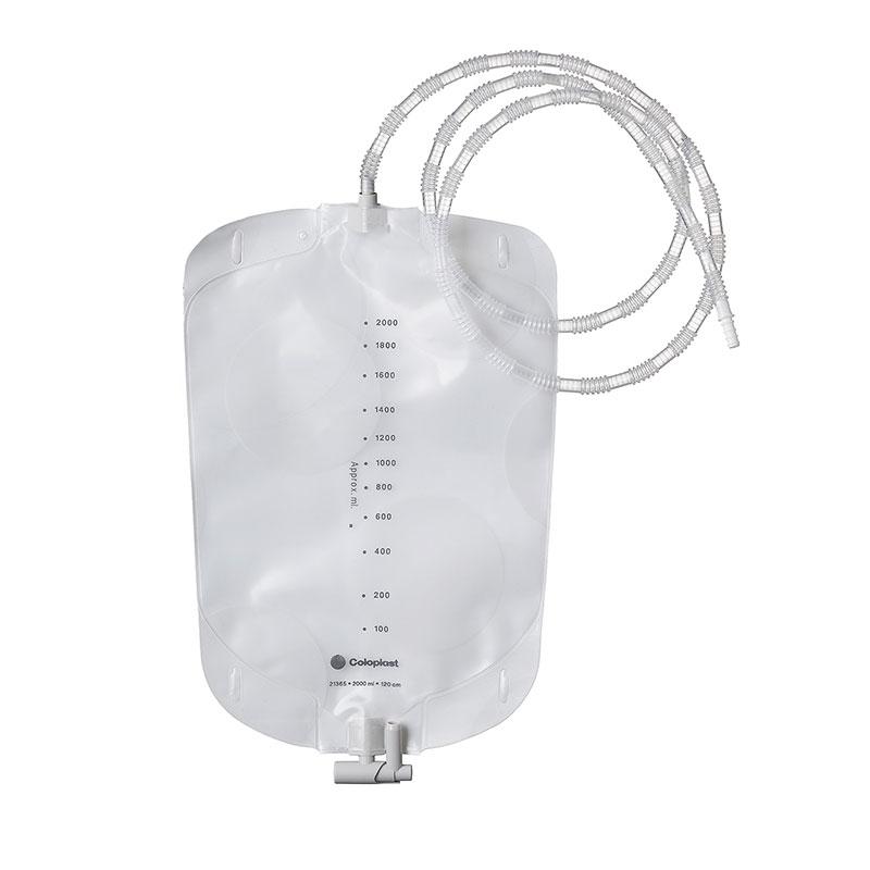 Coloplast Latex-Free Urostomy Night Bag w/120cm Tube 21365 10/bx