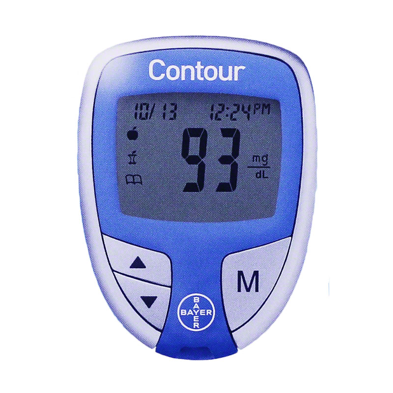 Contour Diabetes Meter Only - Blood Glucose Monitoring System